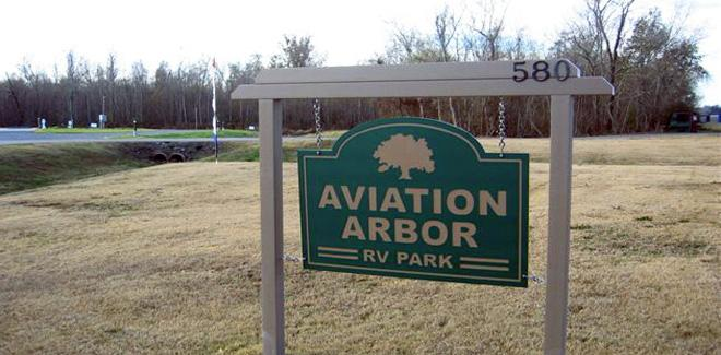 Campground Review:  Aviation Arbor RV Park, Belle Chase, LA