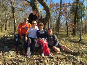 Hiking with the Genrys, Oak Mountain State Park