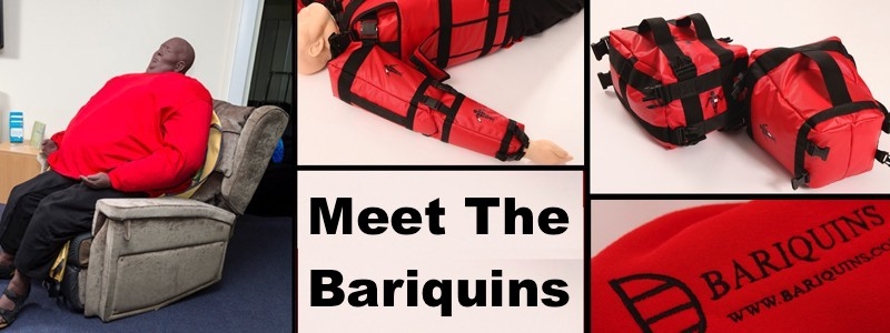 Super-Sized Dummies Wear Our Clothing! (Meet The Bariquins)