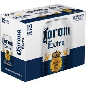 Corona Extra Can 12oz 12 Pack beer