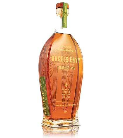 Angel's Envy Rum Cask Finished Rye Whiskey 750ml liquor