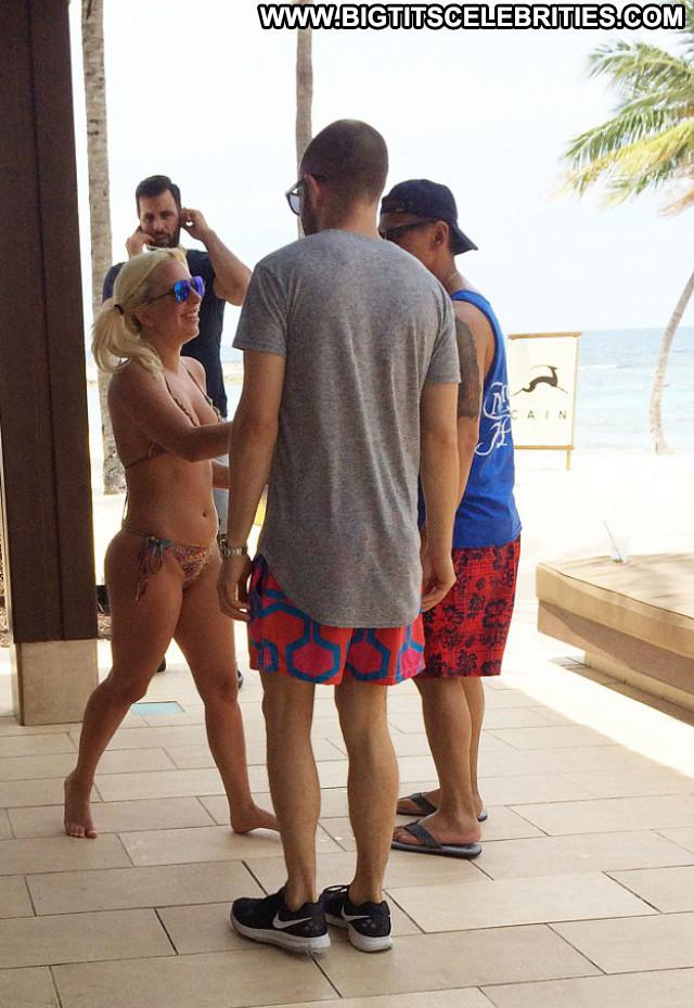 Lady Gaga Singer Celebrity Bikini The Bahamas Bahamas American Babe