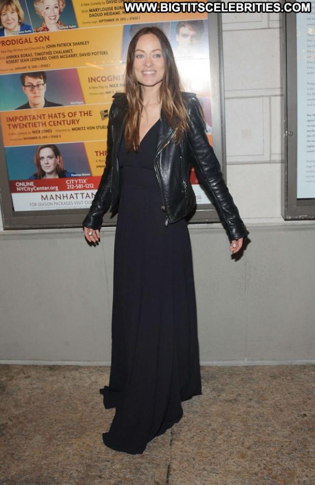 Olivia Wilde Babe Beautiful Paparazzi Nyc Posing Hot Wild Celebrity