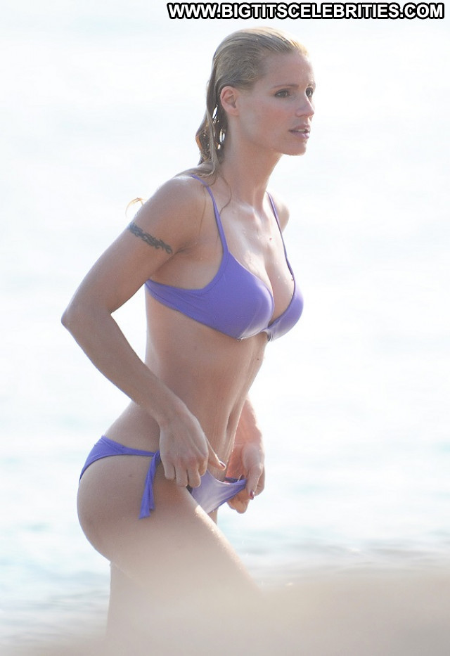 Michelle Hunziker Beautiful Tv Host Actress Babe Toples Topless