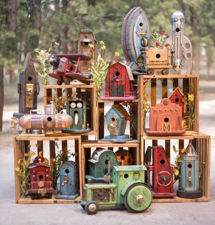 Bud's Birdhouses at Highlands Garden Center