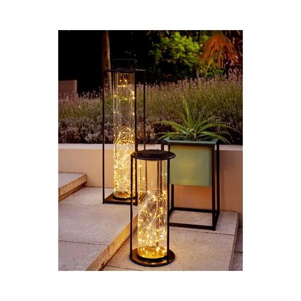 Solar strand wire lantern