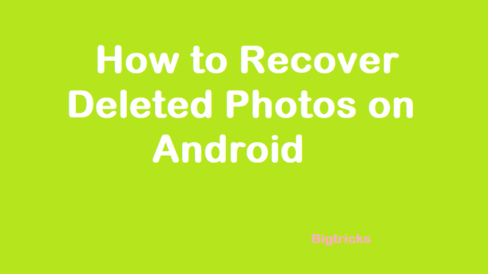 recover - How to Recover Deleted Photos on Android using TunesBro Data Recovery