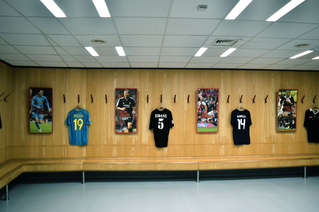 Manchester United Dressing room