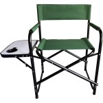 Hinterland Director S Chair With Side Table Green Big W