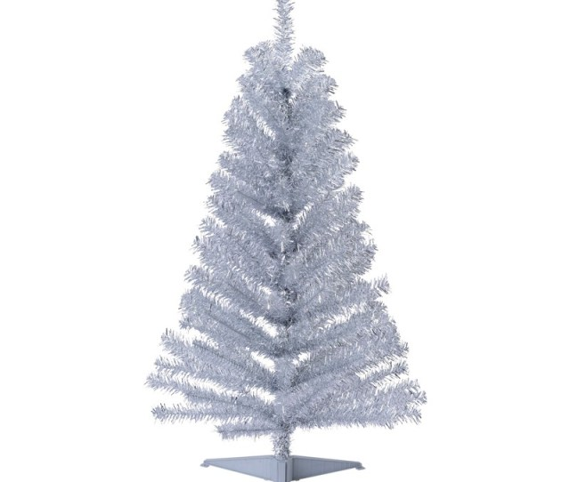Christmas Cm Mini Tree Silver