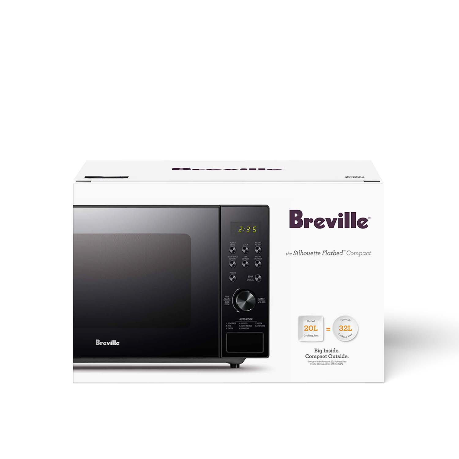 breville the silhouette flatbed