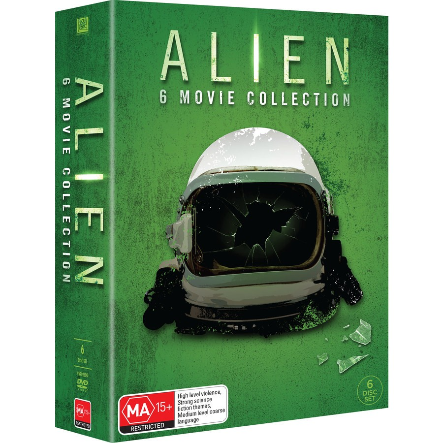 Alien 6 Movie Collection Box Set Dvd Big W