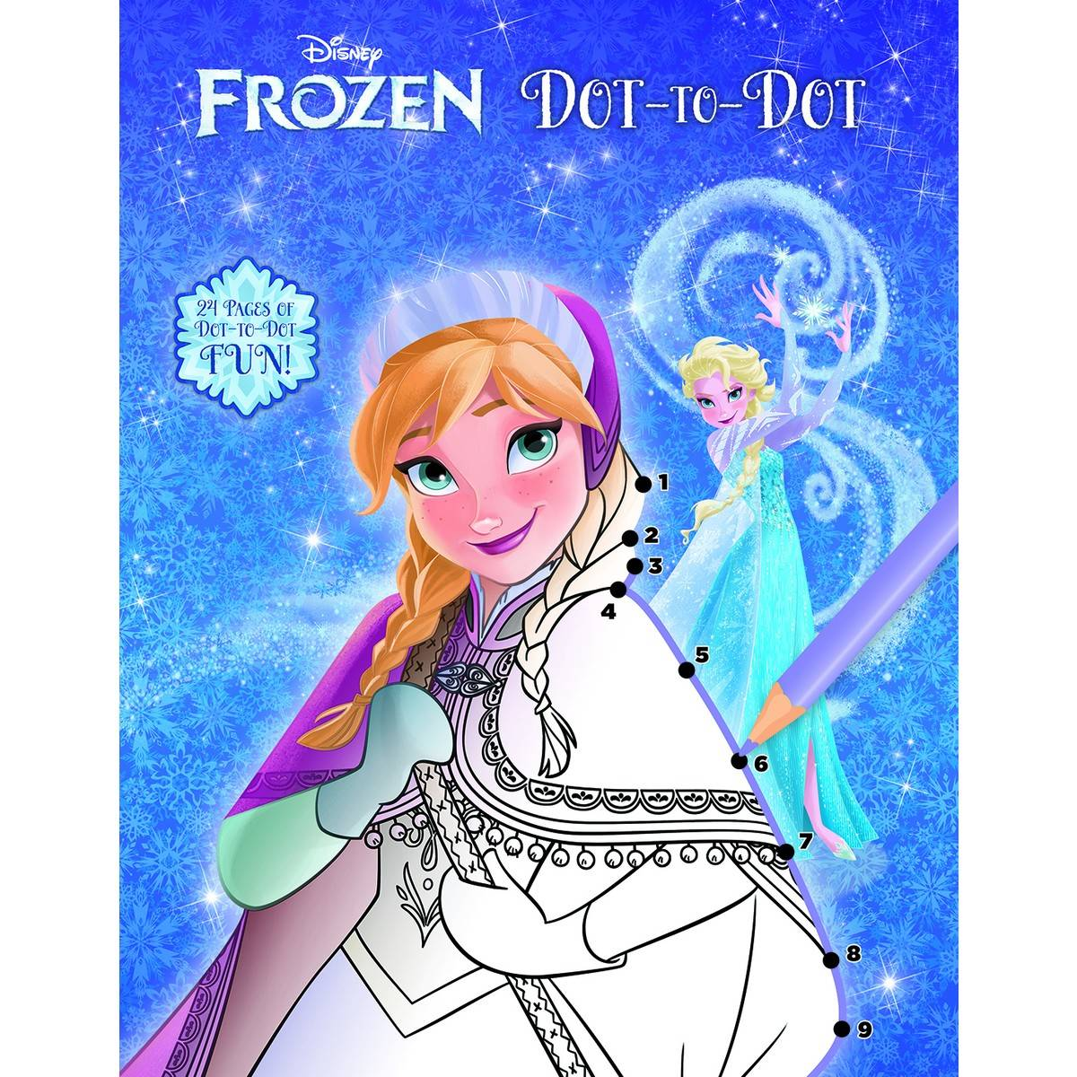 Disney Frozen Dot To Dot