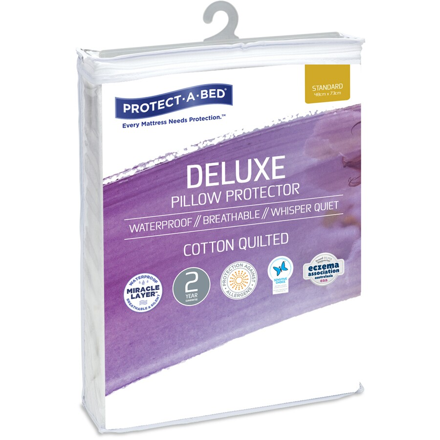 protect a bed waterproof cotton quilted pillow protector