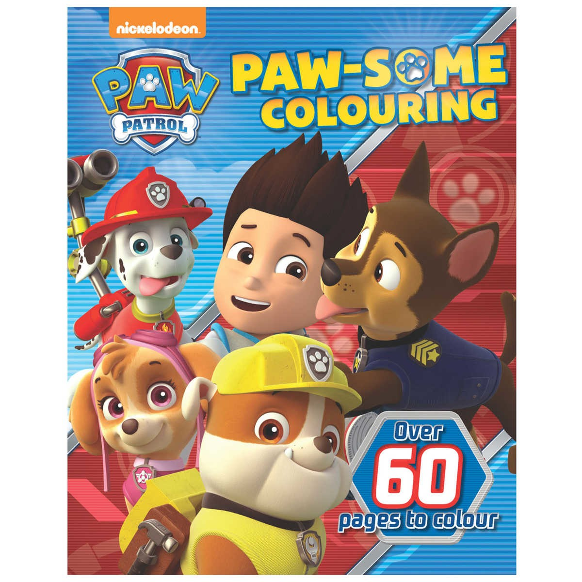 Paw Patrol Colouring Book BIG W