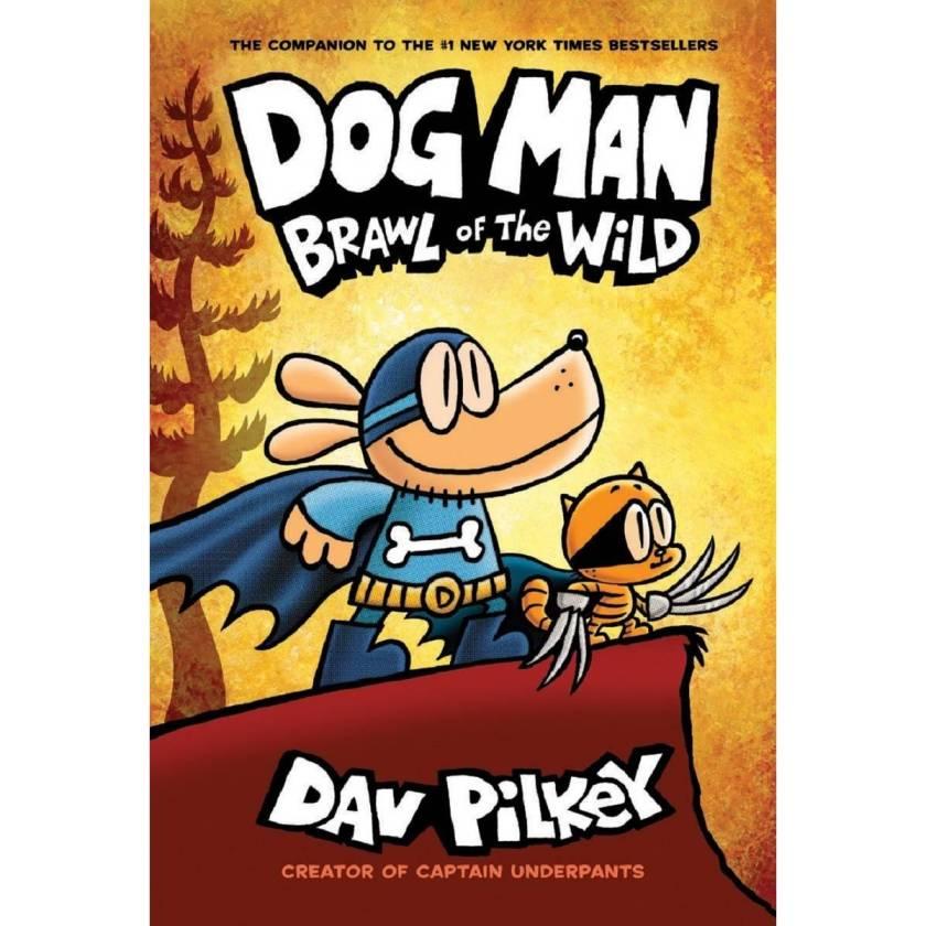 dog man brawl of the wild (dog man #6)  big w