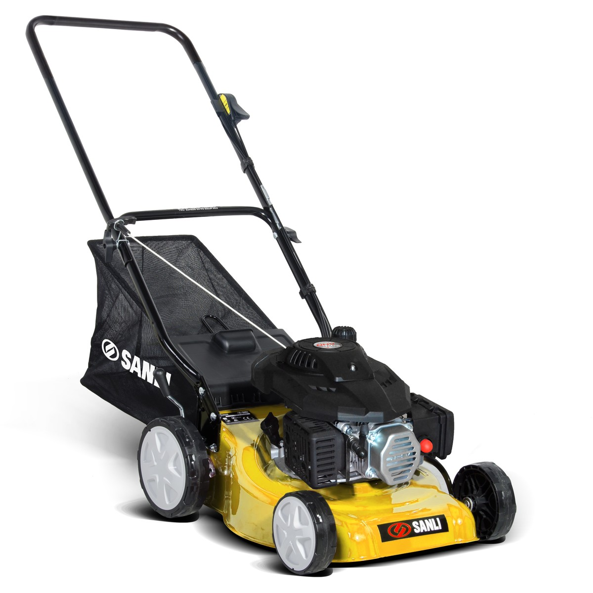 Sanli 4 Stroke Cut And Catch Lawn Mower Big W