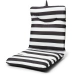 House And Home High Back Outdoor Seat Cushion Stripe Big W
