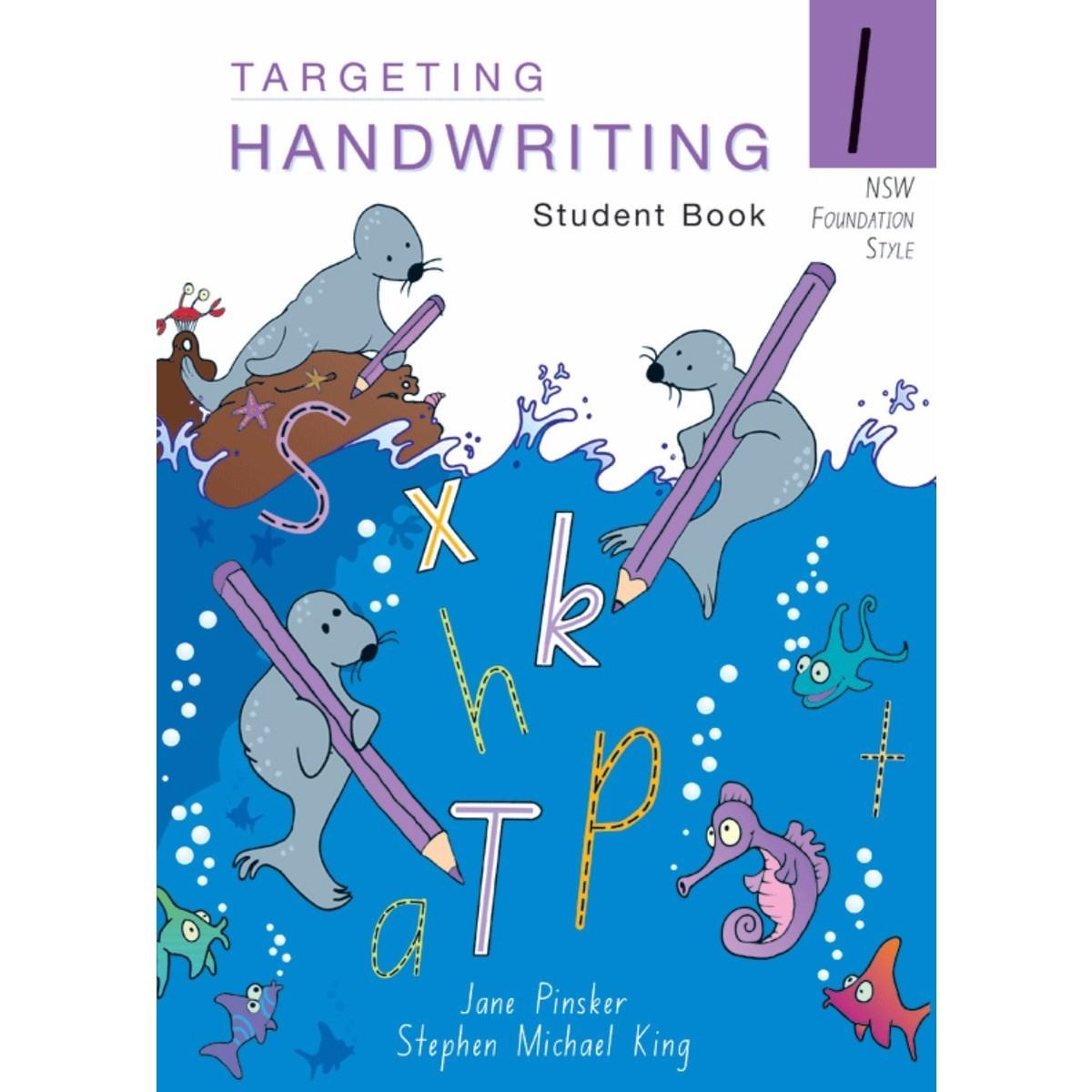 Nsw Targeting Handwriting Student Book Year 1