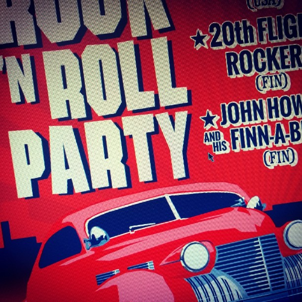Iltabileet 18.7.2015 samalla myös Pieksämäen vanhojen veturitallien ensimmäinen tilaisuus remontin jälkeen! Lavalla Pep Torres (USA), 20th Flight Rockers, John Howdy and His Finn-A-Billies, DJ Mr. Brown sekä Underground Model 2015 finaali!