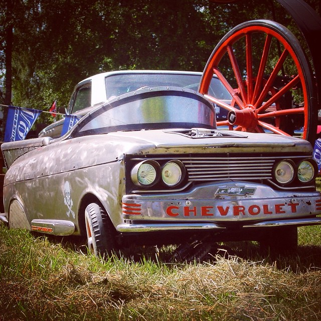 Big Wheels 18.7.2015 is also for small cars show