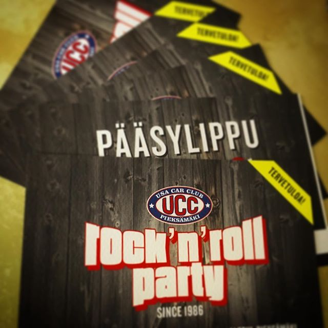 lippuja 26.11.2016 bileisiin saatavana myös ennakkoon Poleenin Kahvilasta, Savontie 13, Pieksämäki / tickets for the party on 26.11.2016 available at Poleenin Kahvila