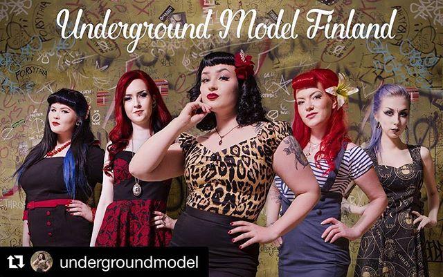 Underground Model 2017 hakuaika päättyy 2.4. eli ensi viikolla.  Hakuohjeet löytyvät www.undergroundmodel.fi 🏻 Finaali Big Wheels Rock'n Roll Partyissa 22.7. @undergroundmodel