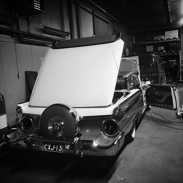 American Car Show -valmistelut käynnissä, torstaina kohti Helsinkiä Big Wheels -osastoa pystyttämään. Here we come @fhrary !