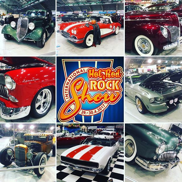 Day one of the show is done. See you tomorrow. @hotrodrockshow