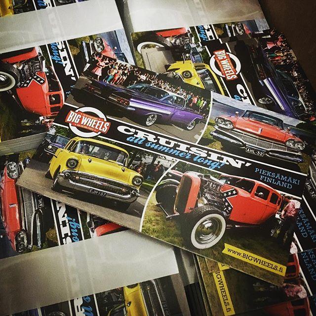Uudet Big Wheels -postikortit ovat saapuneet! Hae omasi American Car Shown BW-oaastolta pääsiäisenä 14.-16.4. Helsingin Messukeskuksella. New postcards available at Big Wheels stand in American Car Show, Helsinki.