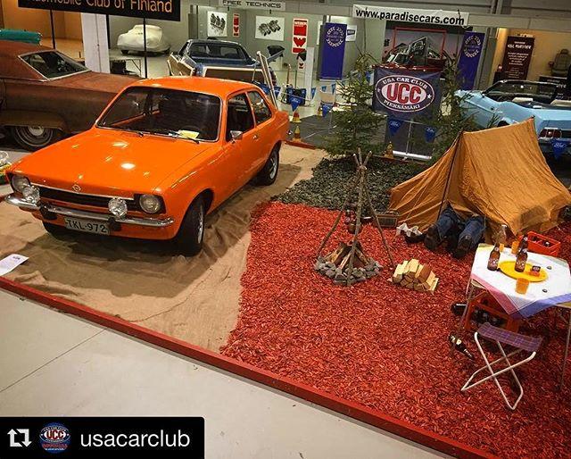 @usacarclub mukana/at Classic Motor Show, Lahti 6.-7.5.