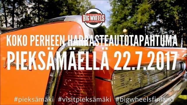 Two months to go! Big Wheels 22.7.2017 Pieksämäki, Finland.