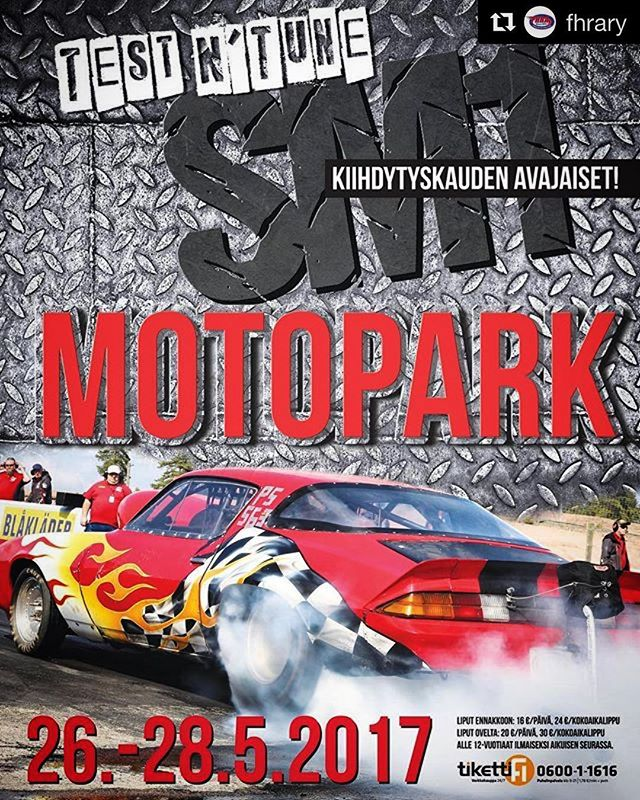 Varma kesän merkki on kiihdytyskauden alku! Tänä kesänä Motoparkissa ajetaan kolme @fhrary:n SM-kisaa ja rata täyttää kesäkuussa 30-vuotta!