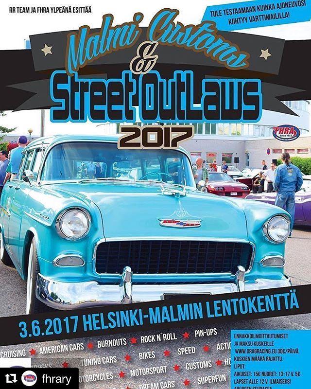 Nyt viikonloppuna 3.6. alkaa @fhrary:n kokoontumisten & katukiihdytystapahtumien sarja Malmin lentokentällä Helsingissä.