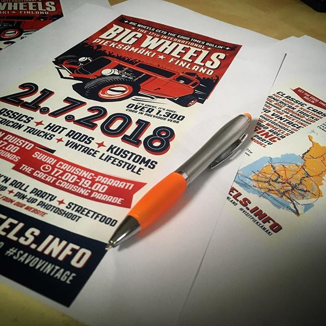 Hereby we announce the marketing of the 2018 Big Wheels officially started!