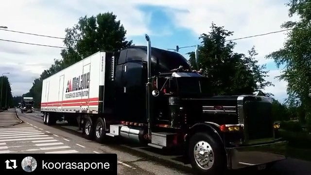 repost from @koorasapone, Big Wheels 22.7.2017 Pieksämäki, Finland. The great cruising parade passing by.