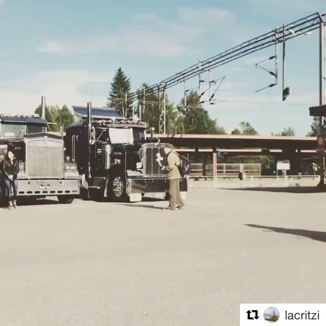 repost from @lacritzi ...awesome lineup at the railway station of Pieksämäki, Big Wheels 22.7.2017