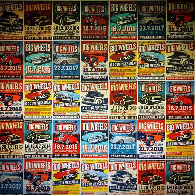 Big Wheels poster collectors on insta? Why not share your collections with us?