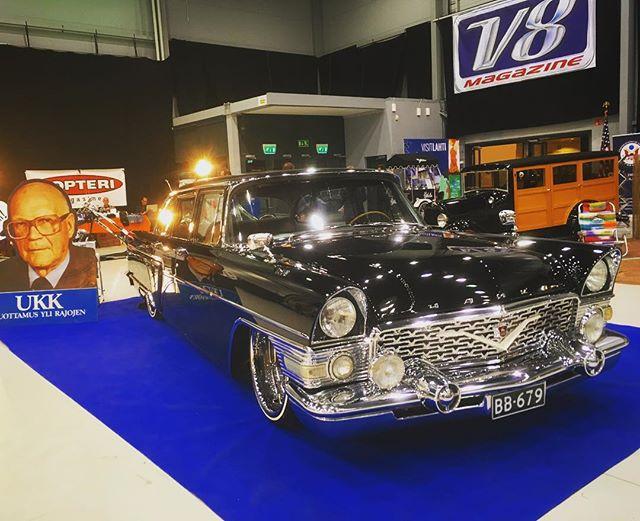 Jenkkiautonäyttely, Autot & Viihde, Yankee Car Show, Lahti, Finland