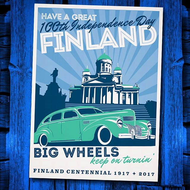 """Swedes we are not, Russians we do not want to become, let us be Finns"" says the old quote. FINLAND meets 100 years as independent country on December 6th 2017. Big Wheels Events wishes everyone a great independence day on our nation's centennial celebrations 🇫🇮 Big Wheels toivottaa kaikille mainiota itsenäisyyspäivää! 🇫🇮"