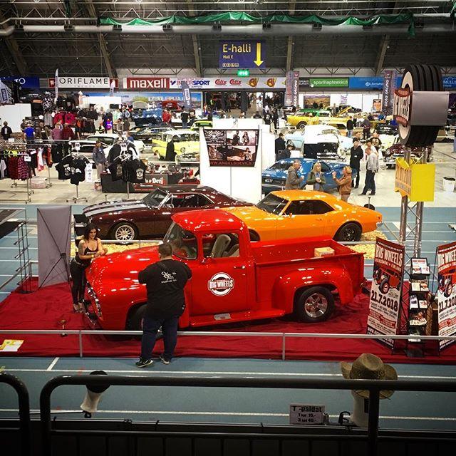 Kiitos Tampere, thanks! Se alkaa olla näyttely paketissa ja keula kohti Savoa. Osastomme 1956 Ford F100 pokkasi tuliaisiksi Pickup & Van -luokan III-palkinnon! 3rd prize in Pickup & Van class for our stand's car