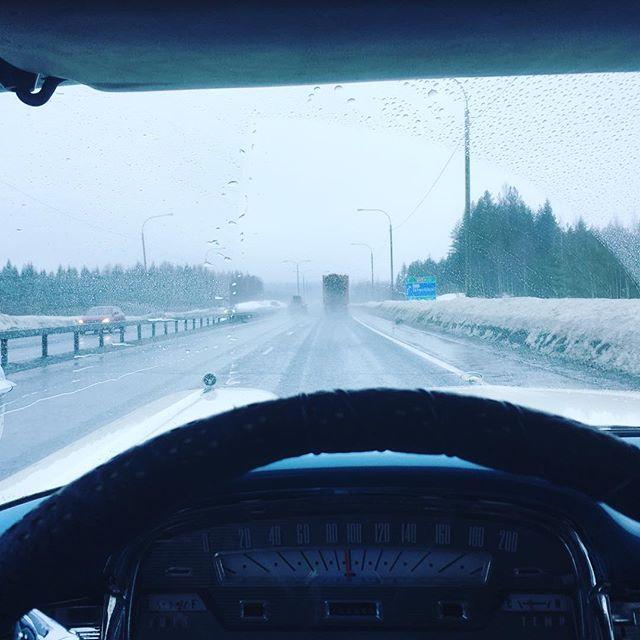 Kuopio here we come. Onpa kesäinen ajokeli!
