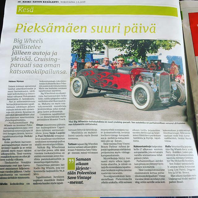 Keski-Savon Kesälehti 2018 @pieksamaki