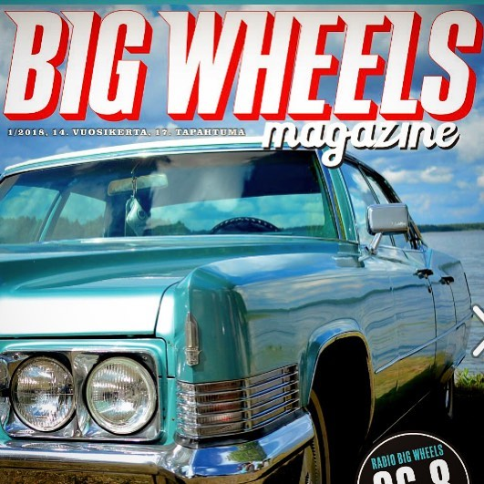 Big Wheels Magazine will be handed out to visitors next saturday 21.7.2018 at the event. Be sure to get your copy!