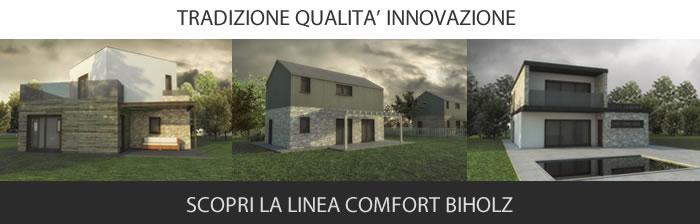 Dai forma al tuo sogno di casa ! Case Linea Smart Biholz Case In Legno