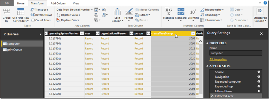 Power BI and Active Directory 13