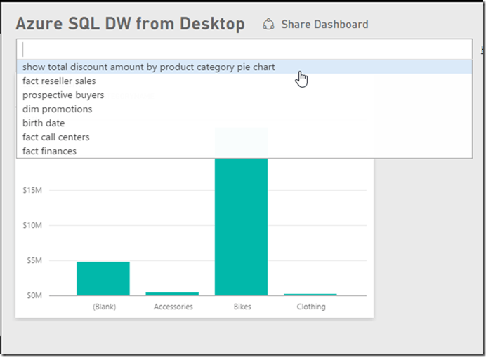 Azure SQL Data Warehouse and Power BI 18