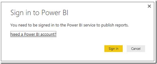 Power BI Publish Reports