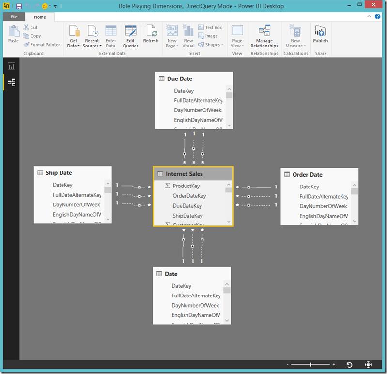 Power BI Desktop Relationships 2