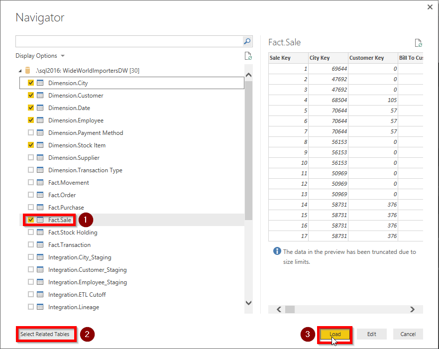 Power BI Desktop Get Data
